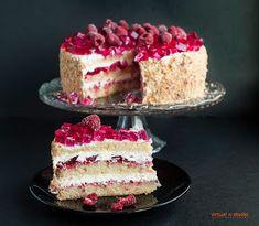 Cake Recipes, Dessert Recipes, Christmas Appetizers, Polish Recipes, I Foods, Vanilla Cake, Delish, Cake Decorating, Sweet Tooth