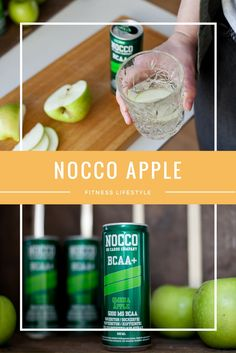 Cool Drinks | NOCCO Apple | NOCCO BCAA | No carbs company | Fitness Lifestyle | Jadeyolanda.fi Apple Fitness, Body Fitness, Juice Bottles, Fun Drinks, Lifestyle, Cool Stuff