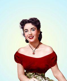 """Elizabeth Taylor - """"A Date For Judy"""" (1948) - Costume designer : Helen Rose"""