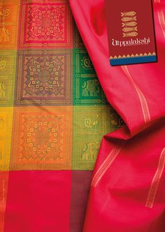 The pattern in the saree is reminiscent of the motifs of Orissa. Grandeur in the…
