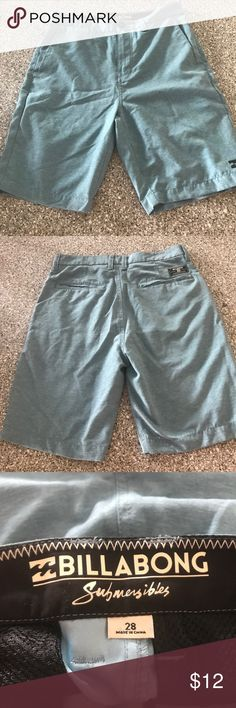 EUC Billabong Shorts Size 28 Excellent used condition. I don't know if he ever wore them. Very light weight material, great shorts. My boys love the surf brands, make sure you check my other men's and boys clothing. My boys range from 21yrs-6yrs. So I have all sizes. Billabong Shorts