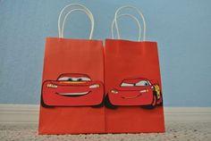 bolsitas de cumpleaños de cars
