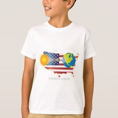#2017 Total Solar Eclipse Across USA Map Geometry T-Shirt - #cool #kids #shirts #child #children #toddler #toddlers #kidsfashion