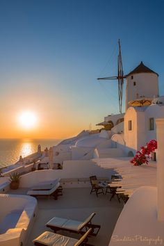 Sunset in Oia, Santo