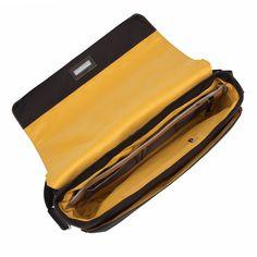 "Bungo 15.6"" Expandable Leather Messenger Laptop Bag - Black – KNOMO Handbags On Sale, Luxury Handbags, Laptop Bag For Women, Laptop Messenger Bags, Tech Accessories, Laptop Sleeves, Black Leather, Purses"
