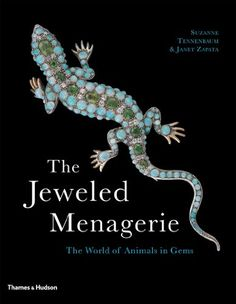 The Jeweled Menagerie: The World of Animals in Gems by Suzanne Tennenbaum http://www.amazon.com/dp/0500286736/ref=cm_sw_r_pi_dp_FHLGwb0SYPD47