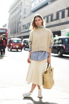 Street style at London's Fall-Winter 2017-2018 Fashion Week