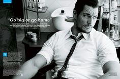 David Gandy covers ShortList Magazine (May 2013) ~ David James Gandy