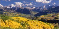 Autumn colors in Durango, Southwest Colorado.