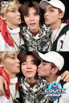 Mark too swag to kiss a man, hellyeah :v