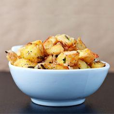 Rosemary Parmesan Garlic Potatoes!!!