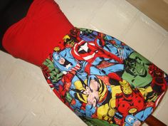 Avengers Mini Skirt Dress via Etsy.