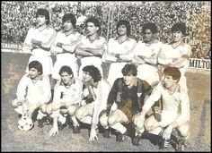 EQUIPOS DE FÚTBOL: SEVILLA contra Sporting de Gijón 14/02/1982