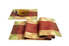 Pier 1 Peony Table Runner and Placemat..circles..my favorite!
