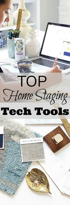 Sharing my top 3 online tools/apps that I use to run my home staging business, all the information on the blog www.homewithkeki.com #homestaging #stagingbusiness #homestagingtips #stagedhomes