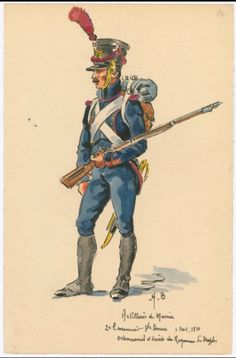 1788-91 Turkish War, Hungarian Grenadiers in combat   18th Century ...