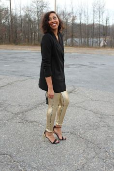 Classic Holiday Look in Sequins