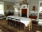 Thanksgiving Diningroom!   This dining room fits 16 with original fireplace now with propane for your pleasure. 1900 Historic Home in Hertford, North Carolina
