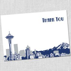 Seattle Thank You Notes by South City Press