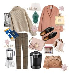 """""""#PolyPresents: Wish List"""" by manette-burrell ❤ liked on Polyvore featuring Gucci, Chicwish, Mulberry, Acne Studios, Cuisinart, Sam Edelman, Keurig, Safavieh, Bobbi Brown Cosmetics and contestentry"""