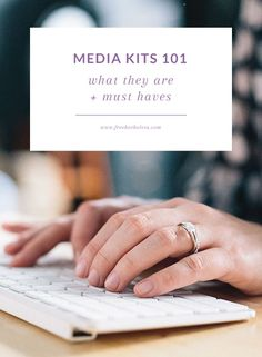 Media kits are one of those big, important things in the blogging world but I've found many bloggers can't tell you what they are, much less why you need on