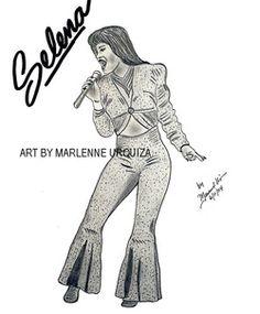 Selena Quintanilla Drawings | SELENA QUINTANILLA PENCIL PORTRAITS