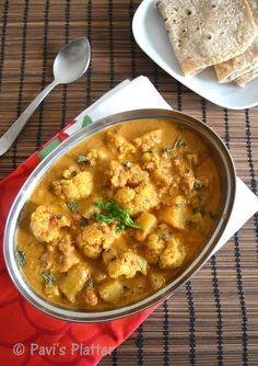 Aloo Gobi Curry (Restaurant Style) !