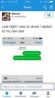 I was so drunk last night - funny text - http://www.jokideo.com/
