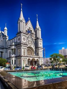 Matriz Church, Itajai, Brazil.