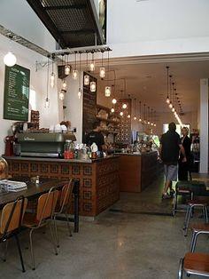 Vudu Cafe Queenstown, NZ - love this place! Larder, New Zealand Travel, Best Coffee, Restaurant Bar, Floor Plans, Flooring, The Originals, Places, Interior
