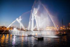 Amsterdam: Ghost Ship made of light