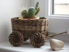 cesteria en papel periodico - Buscar con Google