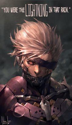 sunflower204,Raiden (MGS),Metal Gear,mgs, Metal Gear Solid, ,фэндомы,Metal Gear Rising,Metal Gear Art