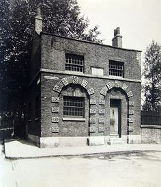 Old Watch House Bethnal Green June My 5 times great grandfather Valentine Stokes lived here. History Of England, British History, Vintage London, Old London, London Life, London Street, London Drawing, East End London, Green Pictures