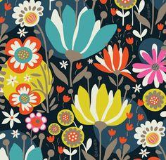 Helen Dardik.  Great pattern and colors...