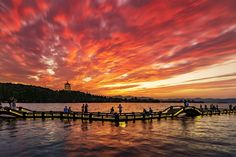 The sunset in Hangzhou, China, tops fireworks anywhere else.