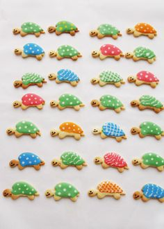 sweet turtle cookies