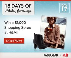 Win an H Shopping Spree