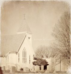 I love old country churchs.