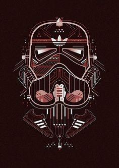 Stormtrooper Adidas X Star Wars