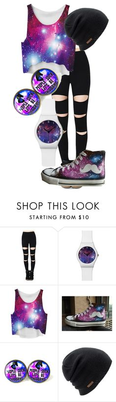 """""""Galaxy"""" by rkburke on Polyvore featuring HVBAO and Coal"""