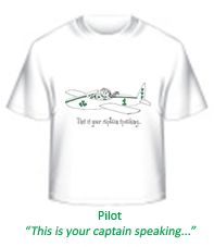 Girls Pilot tee, available Infant to Adult in a rainbow of colors.