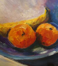 Oil Painting Fruit  Still Life Painting by MaggiePainting on Etsy, $30.00