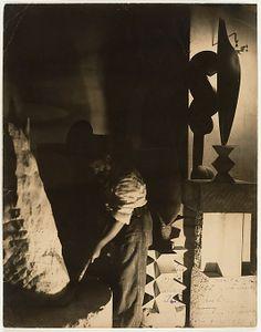 Constantin Brancusi (French (born Romania), Hobita 1876–1957 Paris) | Self-Portrait in Studio | Date: 1923