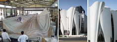 Here's A Look At How The Sculptural Panels Of The Dior Flagship Store In Seoul Were Made | CONTEMPORIST