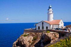 Cala Ratjada lighthouse, Majorca, Sapin