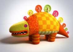 CHARACTER DESIGN DINO by Nikopicto , via Behance