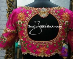 maggam work blouse designs 600x489 photo