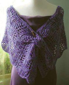 SALE! Red Barn Wave Lace Shawl Knitting Kit  #nobleknits #knitting