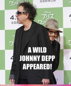 baha, a wild Johnny Depp!